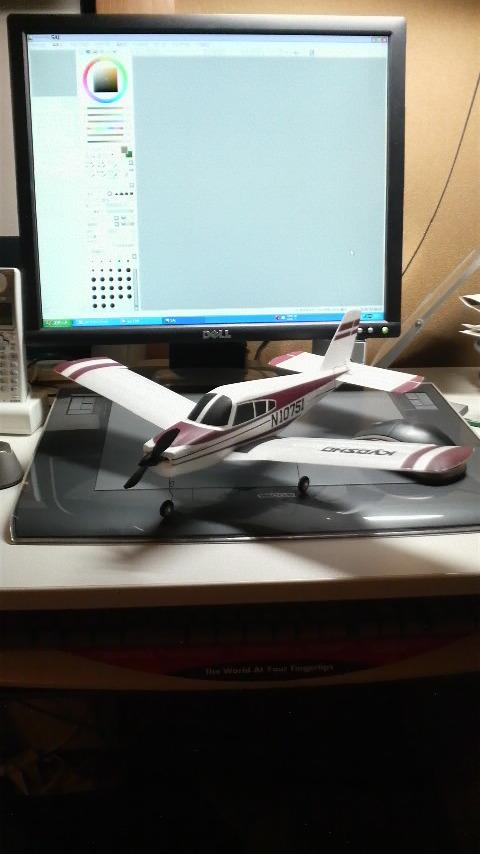 小型ラジコン飛行機